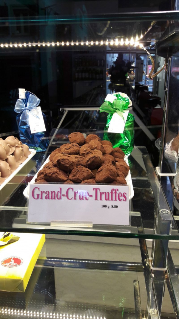 Remembering the 2005 Floodings in Bern with Truffles ?