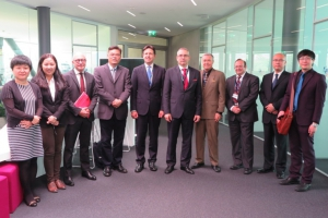 A delegation of the China Institutes of Contemporary International Relations visited the GCSP