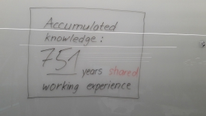 751 years of shared working experience