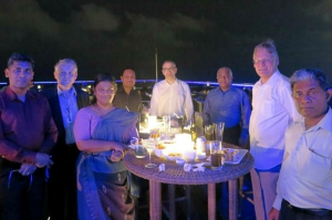 An informal gathering of the GCSP alumni was held in Colombo, Sri Lanka on Friday, 11 March 2016.