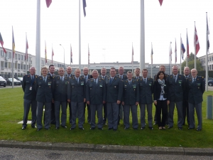 Participants and Some Lecturers in Front of the (Old) NATO HQ